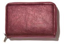 Nalí portfel damski burgund