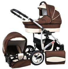 Sun Baby Kombinovaný kočárek Largo 2v1