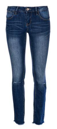 Timeout dámské jeansy 26/30 modrá