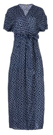 Timeout ženska obleka, temno modra, 36