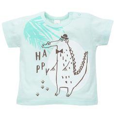 PINOKIO Chlapecké triko Leon krokodýl