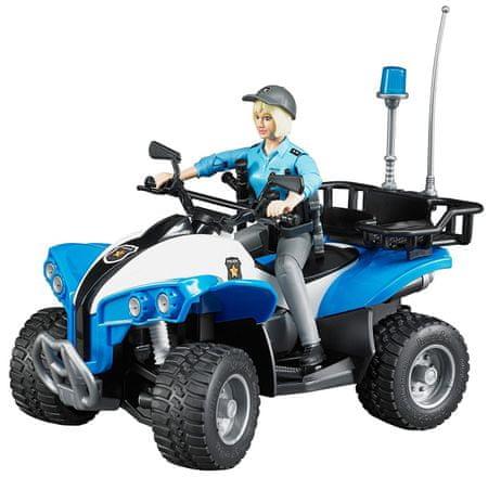 Bruder policijski štirikolesnik s policistko 63010