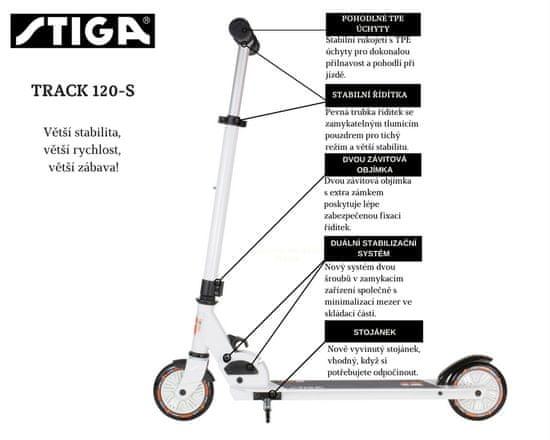 Stiga Koloběžka STIGA Track 120-S