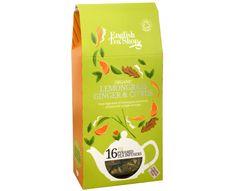 English Tea Shop Čaj Citrónová tráva, zázvor & citrusy 16 pyramidek
