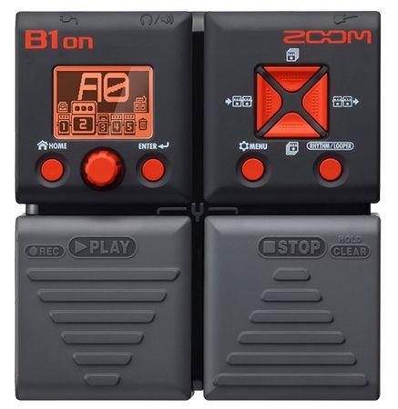Zoom B1on Basgitarový multiefekt
