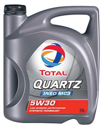 Total motorno olje Quartz INEO MC3 5W-30, 5l