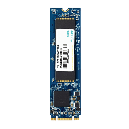 Apacer SSD disk AST280 120 GB, M.2 2280, SATA 3, TLC