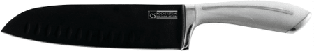 CS Solingen nóż santoku z tytanową powłoką Garmisch, 13 cm