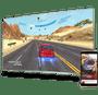 21 - TCL 4K LED TV sprejemnik 55DP660, Android 7.0