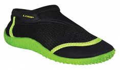 Loap Chlapecké boty do vody Hank Kid černo-zelená