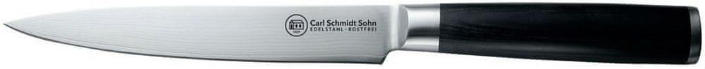 CS Solingen Porcovací nůž z japonské oceli Konstanz, 18 cm