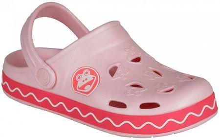 Coqui Dívčí sandály Froggy 34/35 světle růžová