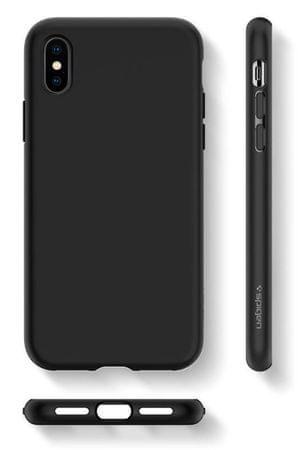 Spigen ovitek za Apple iPhone X Liquid Crystal, črn