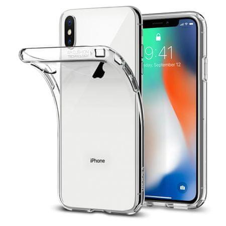 Spigen ovitek Liquid Crystal za iPhone X, prozoren