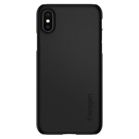 Spigen ovitek Thin Fit Black za iPhone X, črn