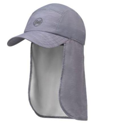 BUFF kapa s senčnikom Bimini Landscape Grey, siva