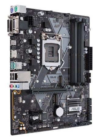 Asus osnovna plošča Prime B360M-A, DDR4, SATA3, USB3.1Gen2, HDMI, LGA1151, mATX