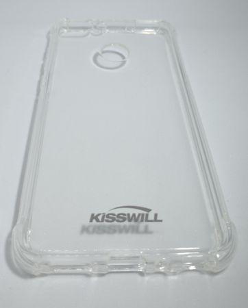 Huawei silikonski ovitek Kisswill Air Around za P Smart, prozoren