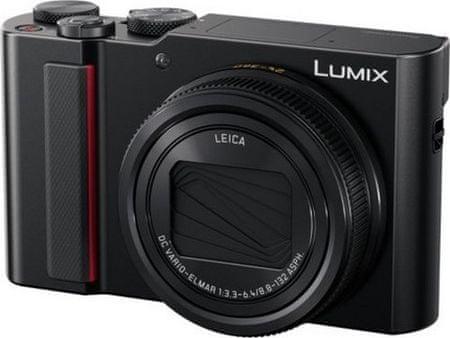 PANASONIC Lumix DMC-TZ200EP Black Digitális fényképezőgép