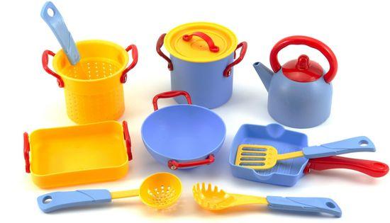 Teddies Sada nádobí 11 ks plast