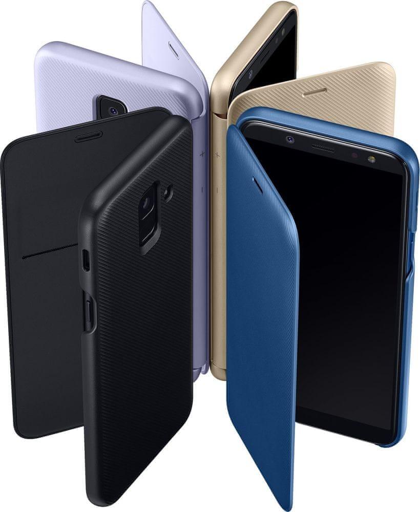 Samsung A6 flipové pouzdro, lavender EF-WA600CVEGWW