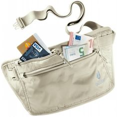 Deuter pasna torbica za denar Deuter Security Money Belt, bež