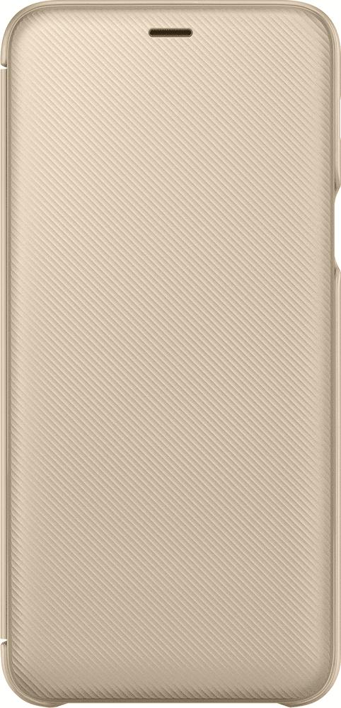 Samsung A6+ flipové pouzdro, zlatá EF-WA605CFEGWW