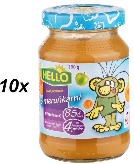 Hello Ovocná přesnídávka s meruňkami a vitamínem C 10x190g