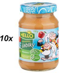 Hello Ovocná přesnídávka s jablky a vitaminem C 10x190g