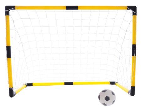 Teddies Fotbalová branka 84x54x42cm s míčkem a pumpičkou