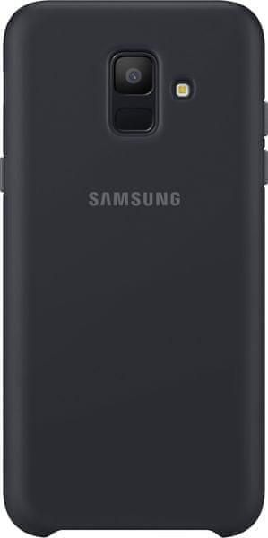 Samsung A6 dvouvrstvý ochranný zadní kryt, černá EF-PA600CBEGWW