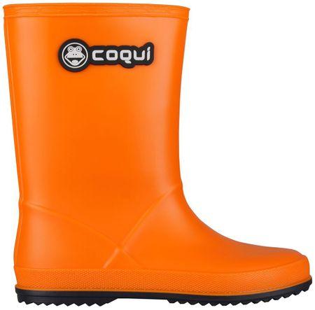 Coqui detské čižmy Rainy 32 oranžová