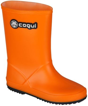 Coqui detské čižmy Rainy 33 oranžová  484ebd0097f
