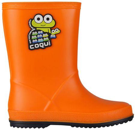 25c677f5d8f8 Coqui detské čižmy Rainy 26 oranžová