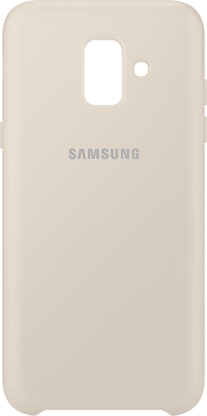 Samsung A6 dvouvrstvý ochranný zadní kryt, zlatá EF-PA600CFEGWW