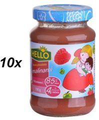 Hello Ovocná přesnídávka s malinami a vitamínem C 10x190g