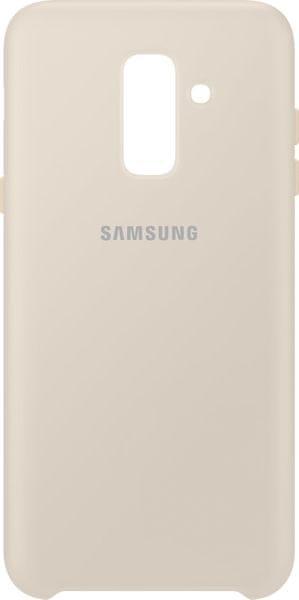 Samsung Samsung A6+ dvouvrstvý ochranný zadní kryt, zlatá EF-PA605CFEGWW