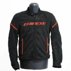 Dainese pánska motocyklová bunda  AIR-FRAME D1 TEX čierna/fluo-červená