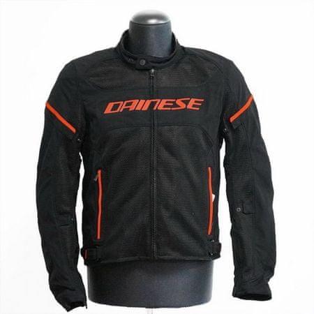 Dainese pánska motocyklová bunda  AIR-FRAME D1 TEX veľ.46 čierna/fluo-červená