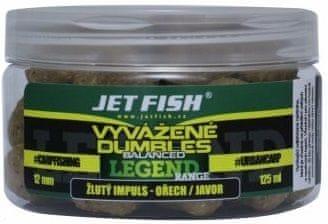 Jet Fish Vyvážené Dumbles Legend Range 125 ml 12 mm žlutý impuls ořech javor