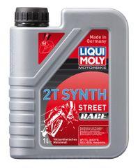 Liqui Moly motorno olje MOTORBIKE 2T SYNTHETIC STREET RACE, 1L