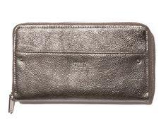 Nalí ženska denarnica, rjava
