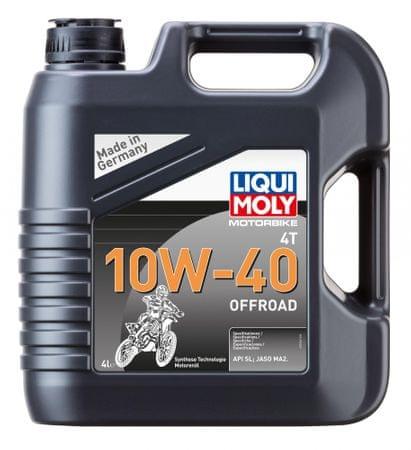 Liqui Moly motorno olje MOTORBIKE 4T 10W40 OFFROAD RACE, 4L