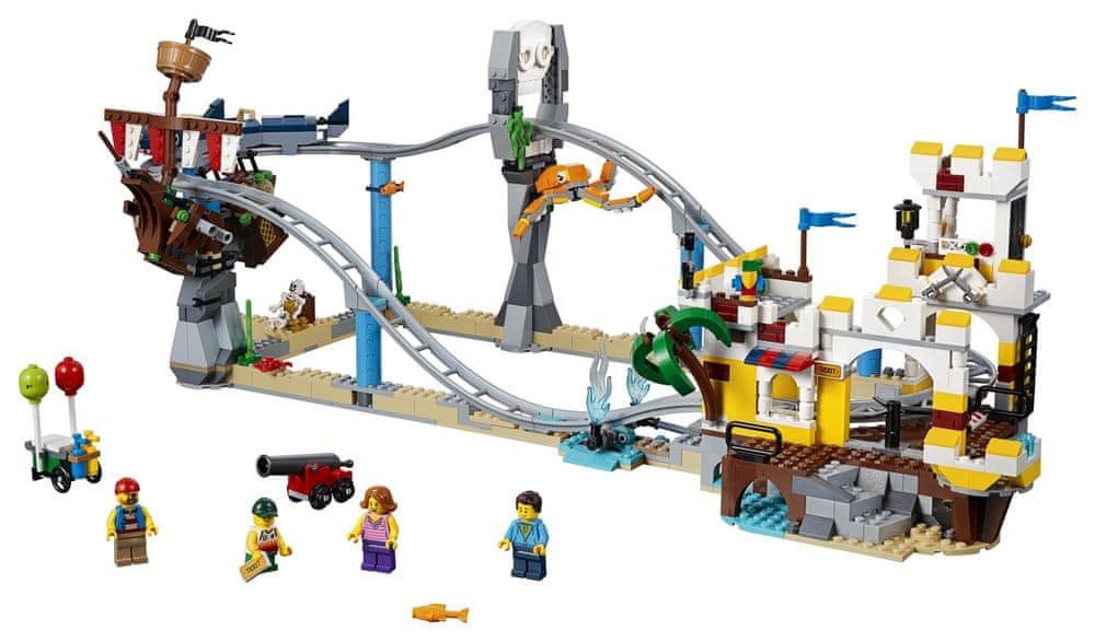 LEGO Creator 31084 Pirátská horská dráha