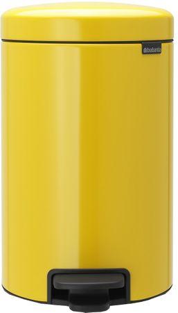 Brabantia Pedálový koš newIcon 12 l žlutá