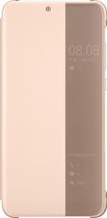 Huawei Original S-View Cover Pouzdro pro P20, růžová 51992357