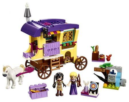 LEGO Disney Princess Zlatolaska in njeno prevozno sredstvo 41157