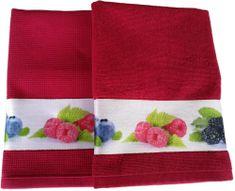 Framsohn Set kuchyňského ručníku a utěrky, Berries
