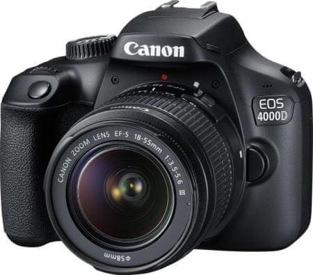 Canon fotoaparat EOS 4000D EF-S 18-55