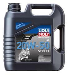 Liqui Moly motorno olje MOTORBIKE 4T 20W50 STREET, 4L